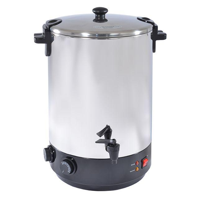 KITCHEN CHEF - stérilisateur électrique inox avec robinet et minuteur 28l 2500w - zj-280td