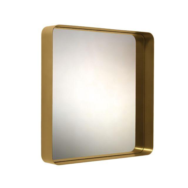 Classicon Miroir Cypris - Laiton - 70 x 70 cm