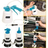 Hazet - Jeu pneumatique de purge des freins - Nombre d'outils: 3 - 4969-1/3