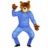 Sans - Kit tête et mains ours en peluche adulte - taille - Taille Unique - 238920