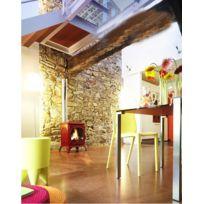 INVICTA - Poêle à bois en fonte 10Kw Seville Anthracite