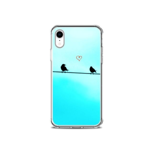 coque iphone xr amoureux
