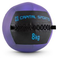 CAPITAL SPORTS - Epitomer Wall Ball 8kg cuir synthétique lilas
