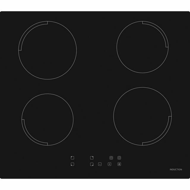 Exquisit Plaque de cuisson en vitrocéramique encastrable Eki 1.5