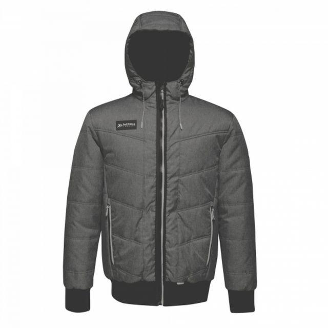 REGATTA Veste thermique à capuche Thrust - Homme XL, Gris / noir Utrg3746