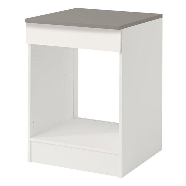 Paris prix meuble bas four 60cm shiny blanc vetusdiesel for Meuble bas prix