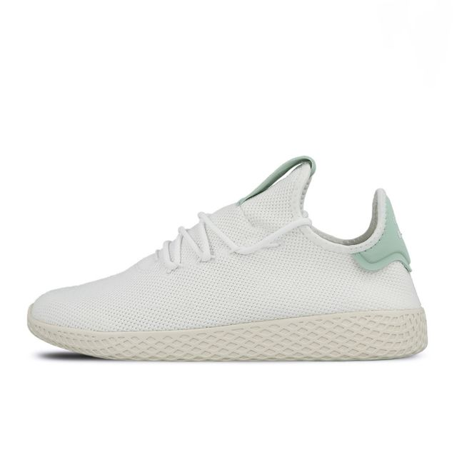 3d7b48ced Adidas originals - Basket Pharrell Williams Tennis Hu - Ref. Cq2168 Blanc -  pas cher Achat   Vente Baskets femme - RueDuCommerce