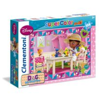 Clementoni - Puzzle 104 pièces maxi : Docteur la Peluche