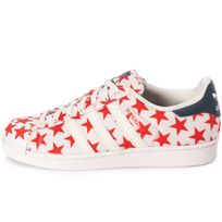 Adidas originals - Superstar Shell Toe Star Pack Blanche Et Rouge