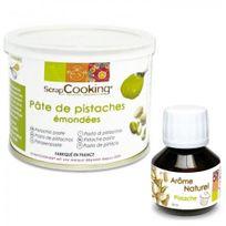 Scrapcooking - Pâte de pistache + arôme pistache