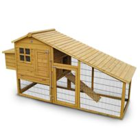 LBHJARDIN - Lbh Jardin - Poulailler en bois 4/6 poules - 3190XWR