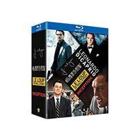 Sans Marque - Leonardo DiCaprio : Le loup de Wall Street + Gatsby le magnifique + Inception + J. Edgar Blu-ray