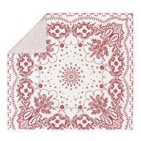 Essix - Bensimon x - Housse de couette Bandana en Percale de coton Sienne - 200 x 200 cm