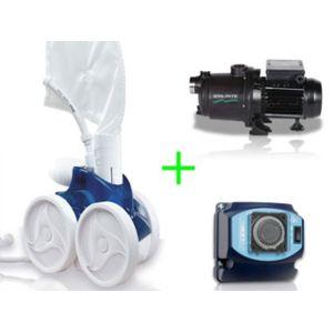 Polaris vigipiscine robot piscine hydraulique 380 pack for Robot piscine polaris 380