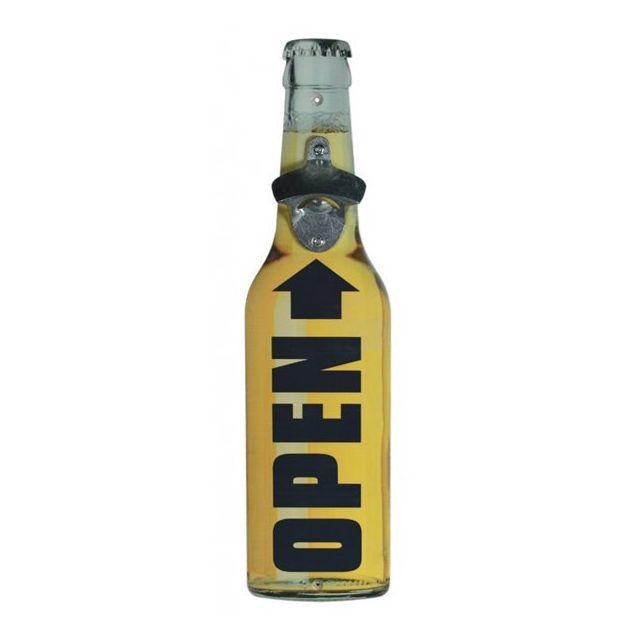 Touslescadeaux Décapsuleur Ouvre Bouteille Xxl - 40 cm - forme bouteille de bière