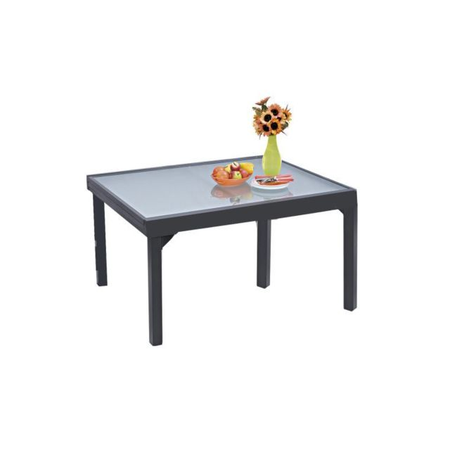 Wilsa - Table De Jardin Modulo Grise Extensible 6 A 10 ...