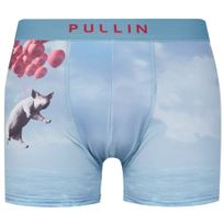 Pull-in - Pull In Boxer Homme Microfibre Flee Bleu