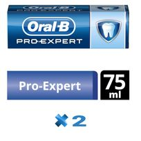 ORAL-B - Lot de 2 Dentifrices Pro-Expert Protection Professionnelle Menthe Extra Fraîche 75 ml