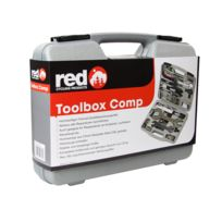 Red Cycling Products - Toolbox Comp - Boîte à outils - gris