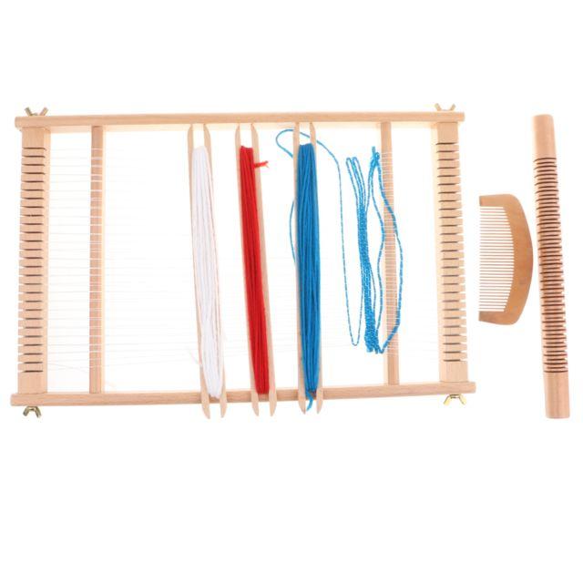 Jouet de tissage en bois Chinois Traditionnel