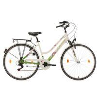 Vélo de ville femme 28'' Papilio blanc TC 48 cm