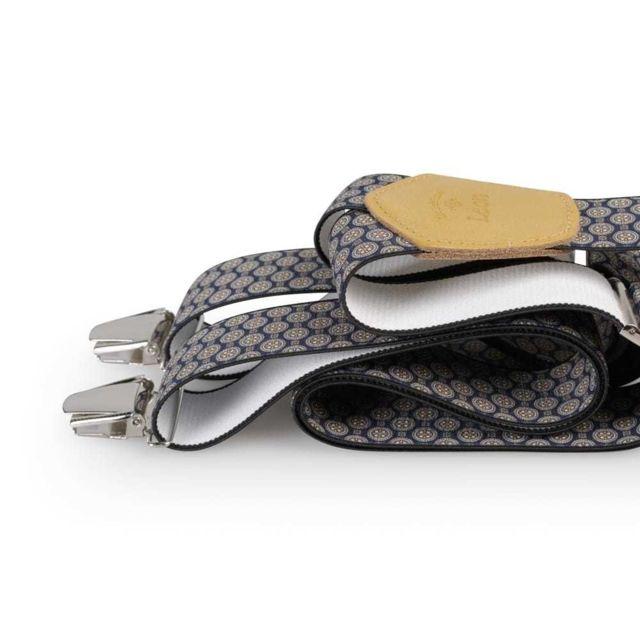 Les Bretelles De LÉON Bretelles Larges Prunelle - Les Bretelles de Léon