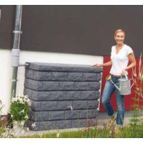 Garantia - Réservoir mural Rocky gris granit 400 L