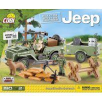 Cobi - Jeep Willys Mb et remorque