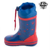 04391adbf94ae Bottes de Pluie Bleues en caoutchouc La Pat  Patrouille - Bottes pour enfant  garçon et fille Taille des chaussures - 30