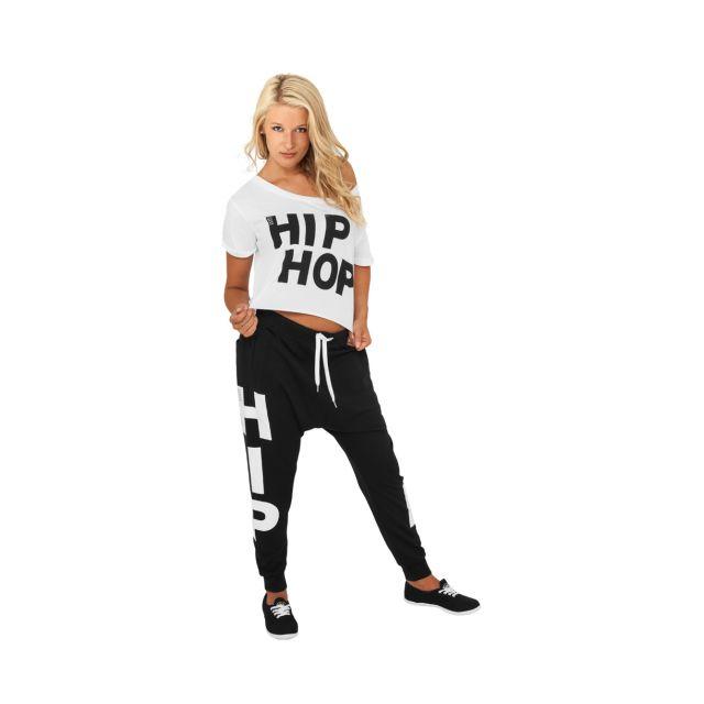 Urban Dance - Bas de jogging Sarouel Noir Baggy Hip Hop Danse - pas cher  Achat   Vente Pantalon femme - RueDuCommerce 710083eafdb