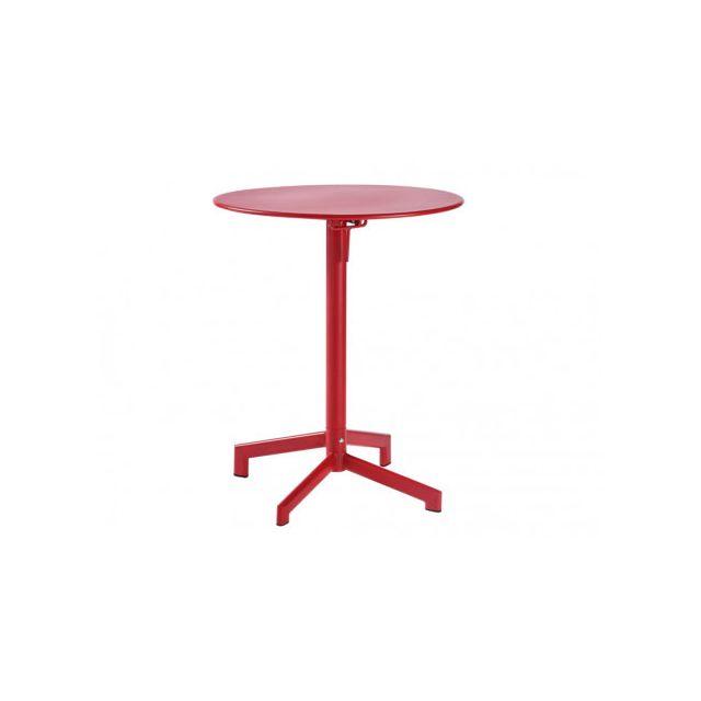 MARQUE GENERIQUE - Petite table de jardin pliable LUXEMBOURG en ...