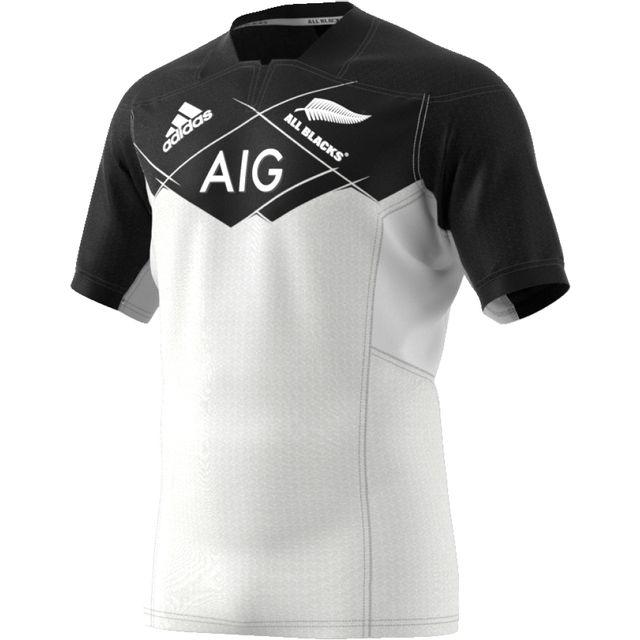 f7ae5899f2f Adidas performance - maillot All Blacks All Blacks Replica Extérieur 17/18  - pas cher Achat / Vente Nations - RueDuCommerce