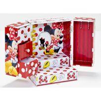 Toy Joy - Coffret à bijoux - Boite à musique - Modèle armoire - Collection Disney Minnie