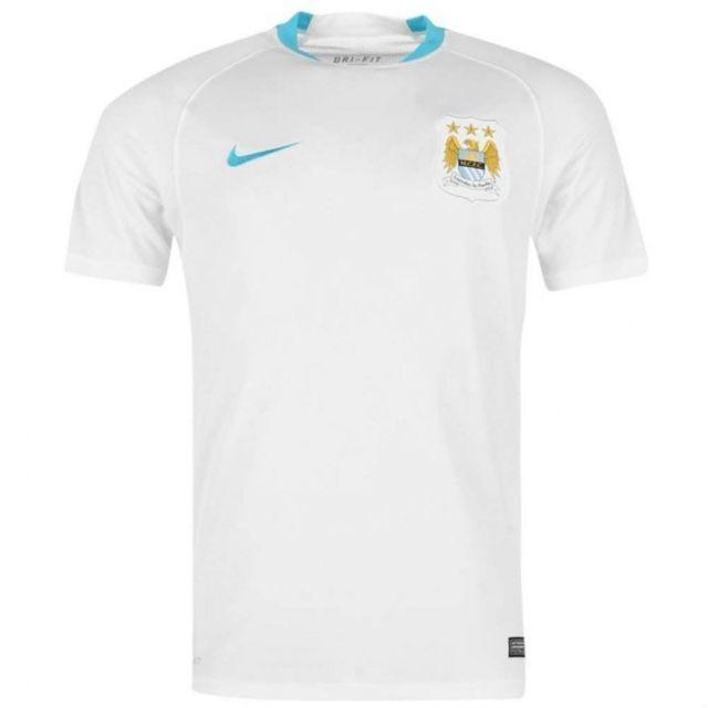 Manchester City Flash Homme Maillot Football Blanc Multicouleur Xxl