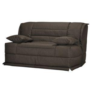 les essentiels by dlm banquette bz housse en tissu avec matelas sofaconfort 12cm mareva. Black Bedroom Furniture Sets. Home Design Ideas