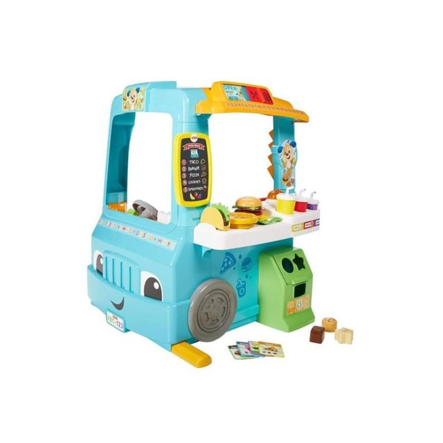 Fisher Price Fisher-price - Le Camion Restaurant de Puppy - 18 mois et