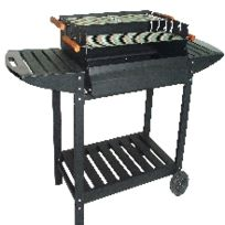 Cross Outdoor - Barbecue avec 3 tablettes + 2 grilles
