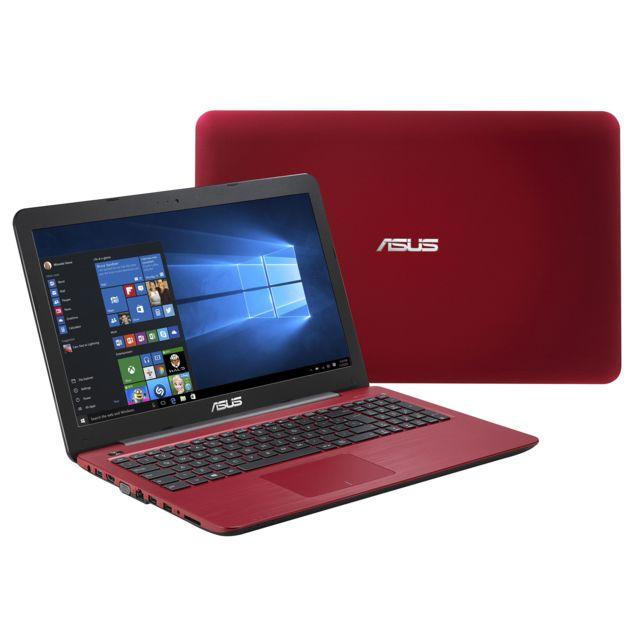 achat asus r511la xx3011t rouge ordinateur portable 15 6. Black Bedroom Furniture Sets. Home Design Ideas