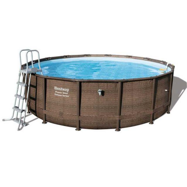 bestway piscine tublaire 4 27m x 1 07m filtre cartouche pas cher achat vente piscine. Black Bedroom Furniture Sets. Home Design Ideas