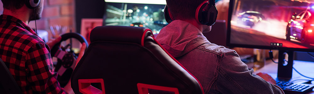 Chaise gamer jeu video