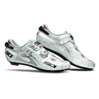 Sidi - Wire Carbon Blanche Vernie Chaussures Vélo route
