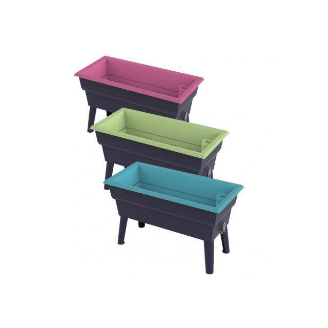 Pouss Vert Jardinière Calipso, Couleur Framboise, Modèle Mini - longueur : 0