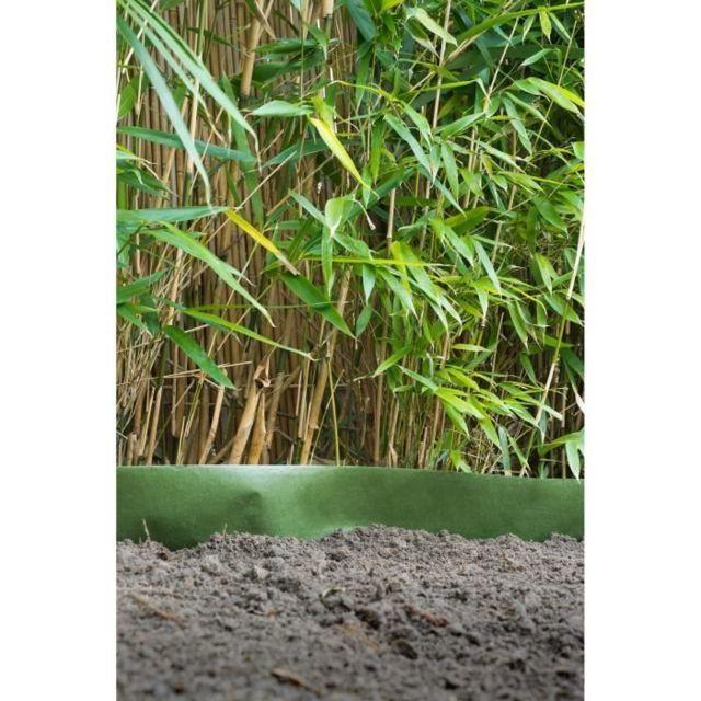 MGS anti rhizome noir HDPE 0.70Mx15M pour Gazon synthétique