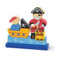 Viga Toys - 0533 - Puzzle MagnÉTIQUE 3D - Pirates