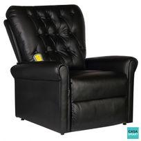 Casasmart - Fauteuil de massage électrique Confortplus - noir
