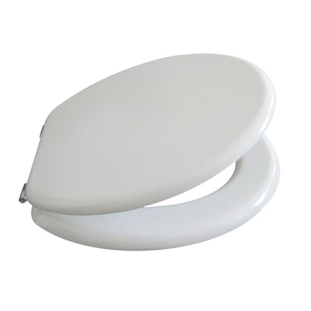 carrefour home abattant wc blanc bt 028wdp pas cher achat vente abattant wc. Black Bedroom Furniture Sets. Home Design Ideas