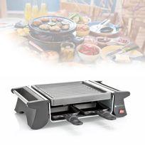 Blackpear - Raclette 4 Poêlons anti-adhésifs 500W