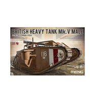 Meng - Model 1:35 - British Heavy Tank Mk V Male - MNGTS-020