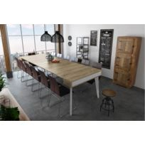 Table Console Extensible Chene Massif Catalogue 2019