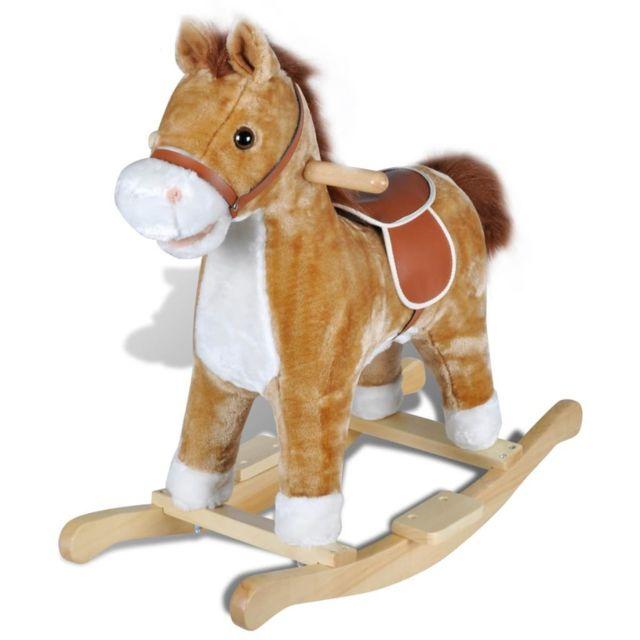 Vidaxl - Animal de cheval à bascule avec